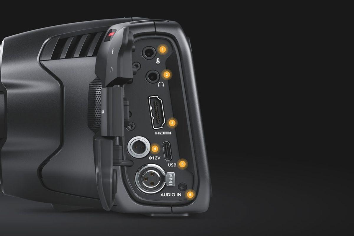 Blackmagic Design Pocket Cinema Camera 6k Kamera Khusus Video Dengan Sensor 6k Super 35 Dan Mendukung Lensa Canon Ef Camcorder 9 August 2019