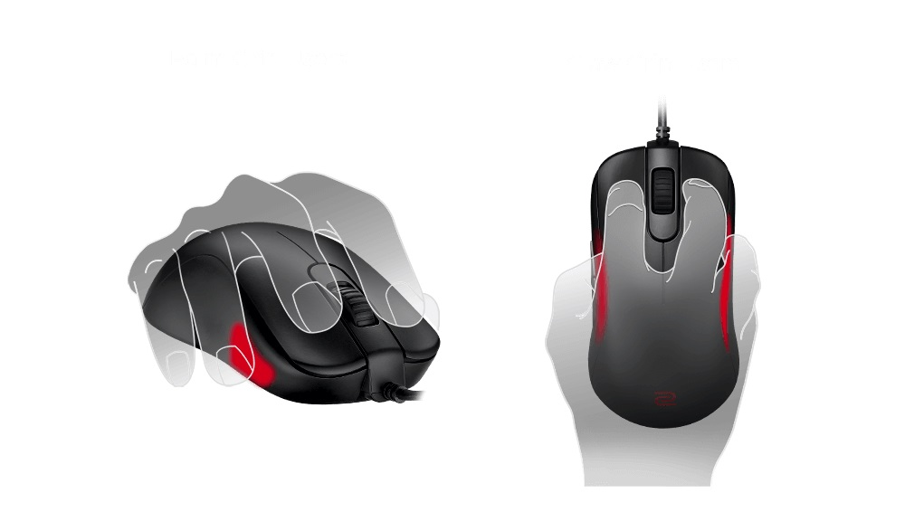 BenQ ZOWIE S: Mouse Gaming Kelas Profesional untuk Para Gamer FPS 17 BenQ, benq zowie S, harga, spesifikasi