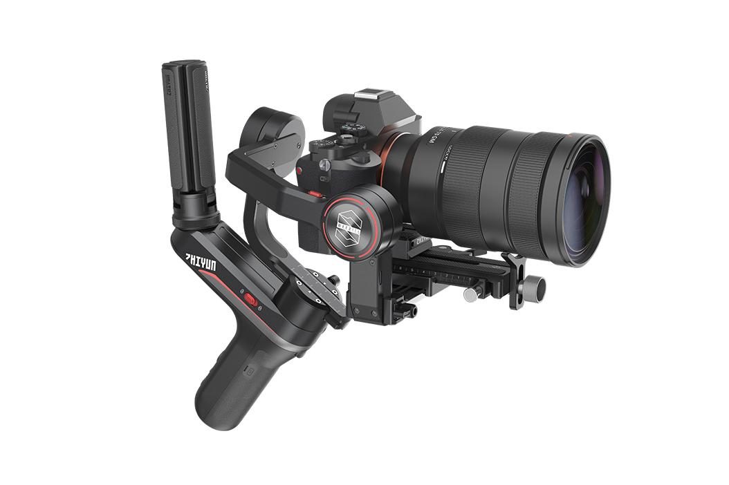 Zhiyun WEEBILL-S: Gimbal 3-axis Ringkas untuk Kamera DSLR dan Mirrorless 2 gimbal 3-axis, harga, spesifikasi, zhiyun, zhiyun weebil-S