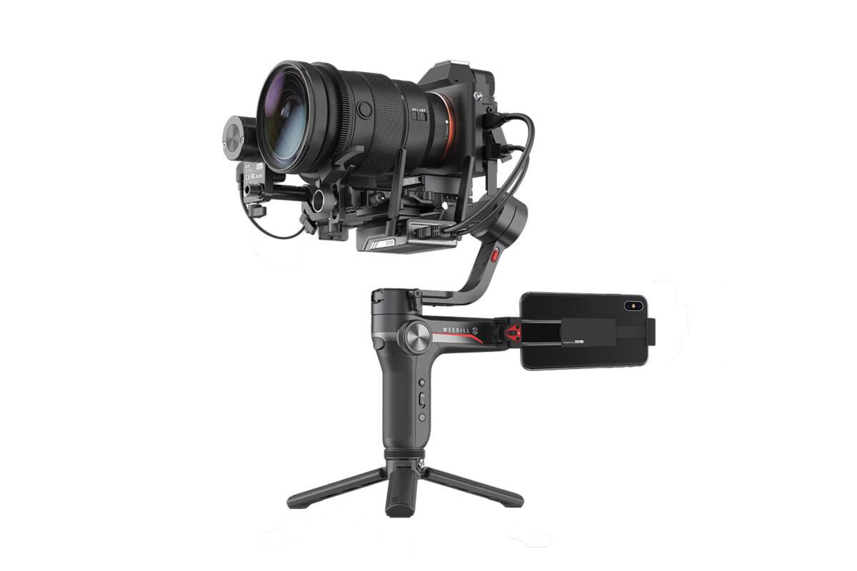 Zhiyun WEEBILL-S: Gimbal 3-axis Ringkas untuk Kamera DSLR dan Mirrorless 3 gimbal 3-axis, harga, spesifikasi, zhiyun, zhiyun weebil-S