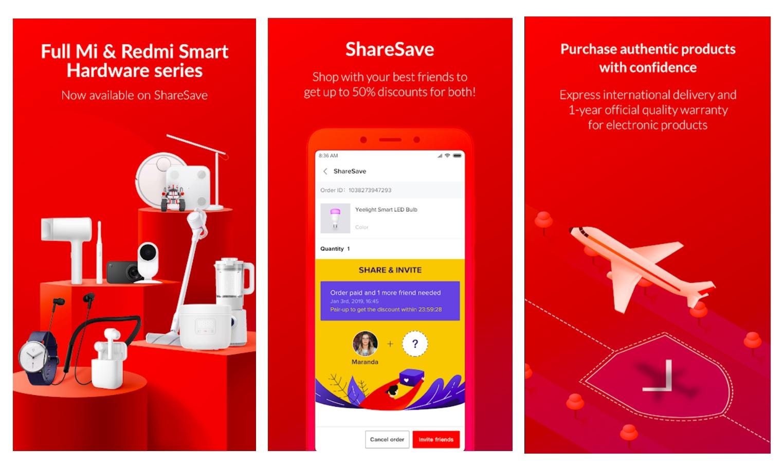 Xiaomi Indonesia Hadirkan ShareSave, Platform E-Commerce untuk Belanja Produk dari Luar Negeri 3 android, Aplikasi, e-commerce, xiaomi, Xiaomi ShareSave