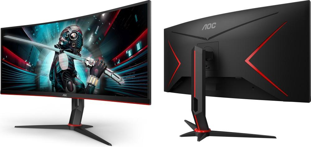 AOC CU34G2 dan CU34G2X: Duo Monitor Gaming 34 Inci dengan Desain Curved dan Dukungan AMD FreeSync 16 AOC, AOC CU34G2, gaming, monitor