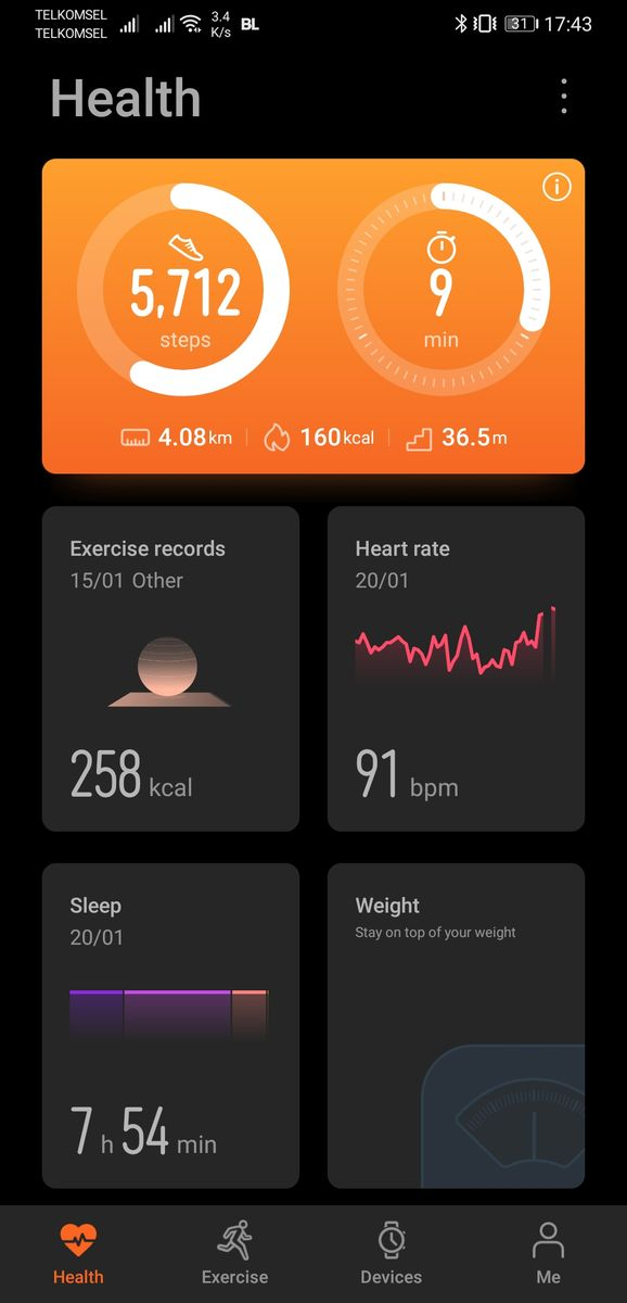 Huawei Health App-1