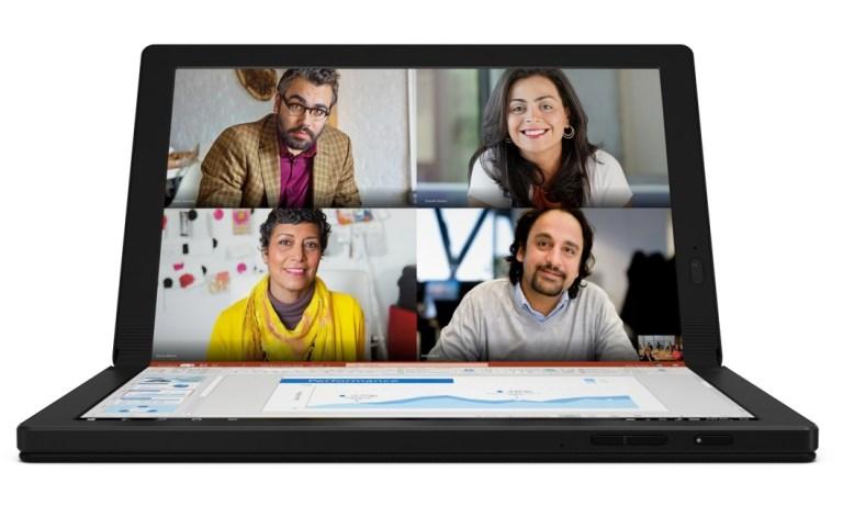 [CES 2020] Lenovo ThinkPad X1 Fold: Tablet PC Windows 10 Pertama Lenovo dengan Layar Lipat 4 ces 2020, harga, lenovo thinkpad, Lenovo ThinkPad x1 Fold, spesifikasi