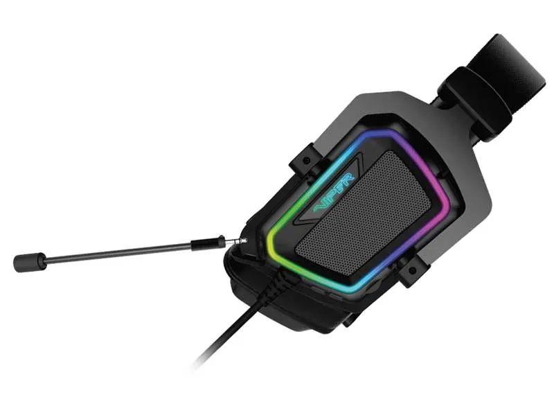 Patriot Viper V380: Headset Gaming dengan Virtual Surround 7.1 dan Lampu RGB 17 harga, patriot, patriot viper v380, spesifikasi