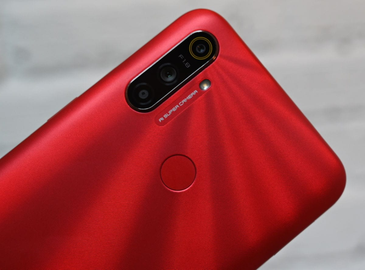 Realme C3 red kamera