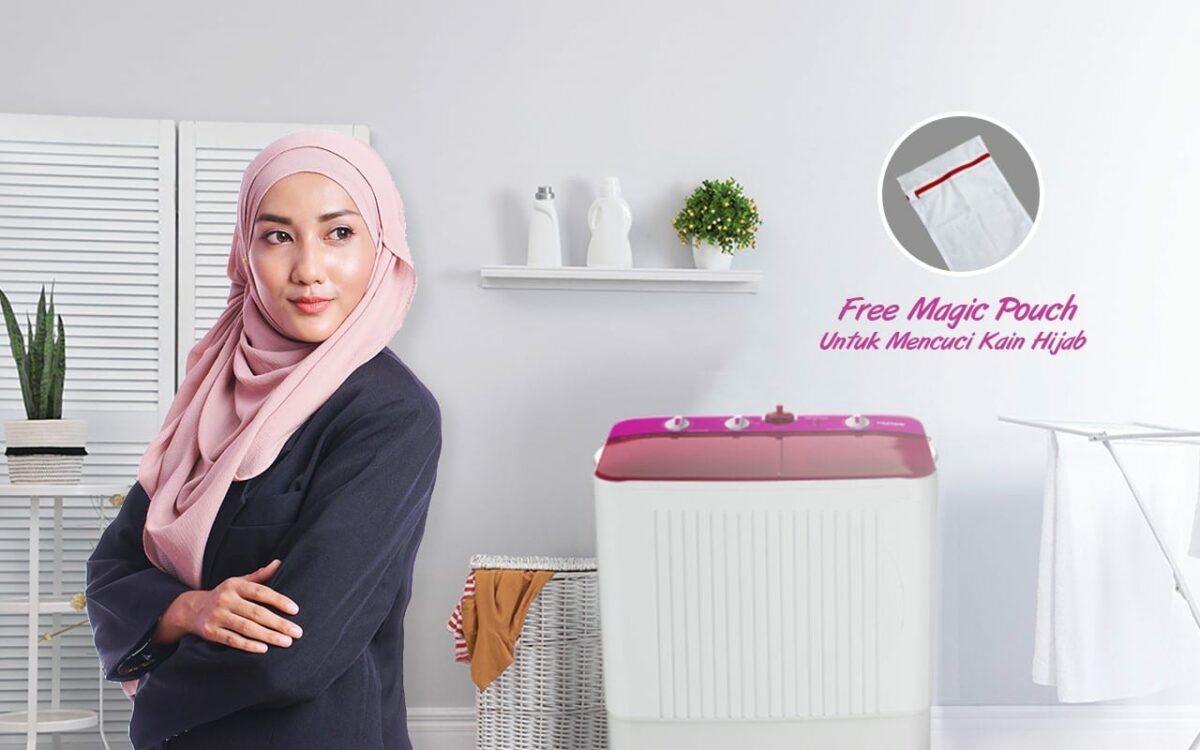 Polytron Primadona Samba: Mesin Cuci Hemat Listrik dengan Water Filter dan Mode Hijab 2 harga, mesin cuci polytron, Polytron, polytron primadona samba, spesifikasi
