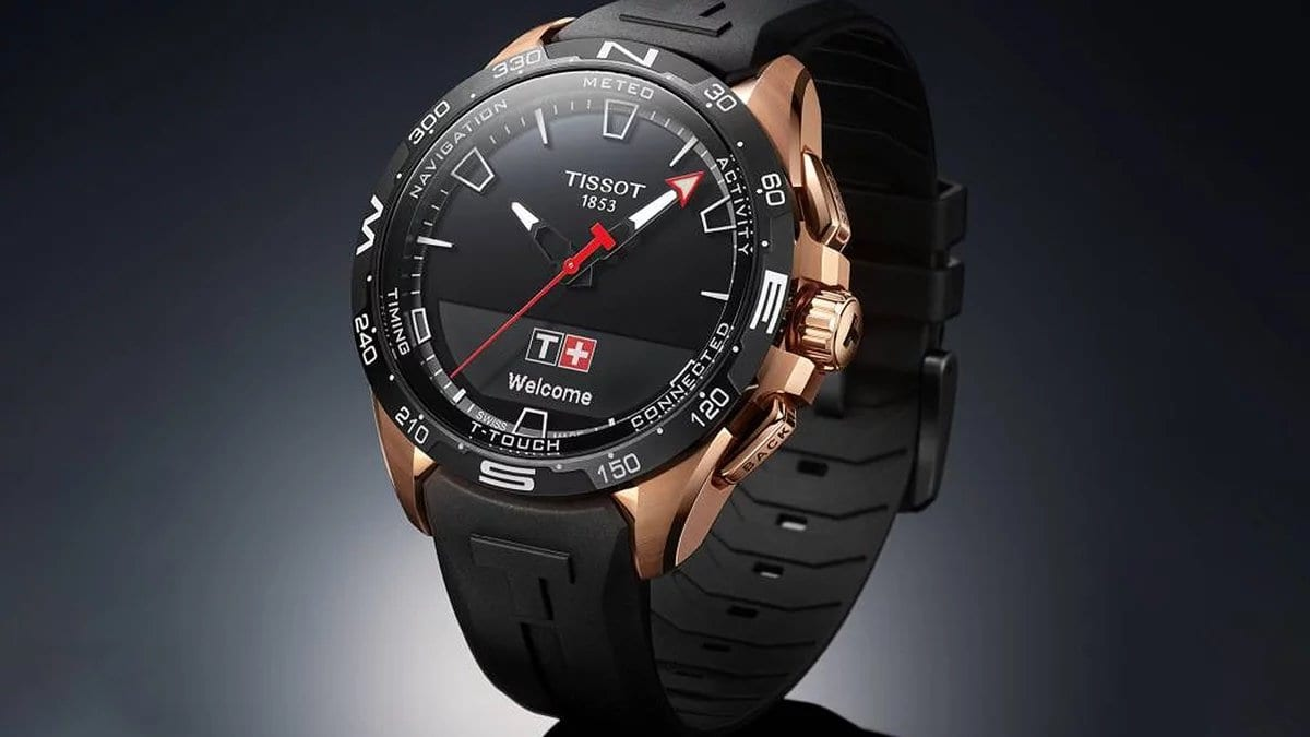 Tissot T-Touch Connect Solar: Baterai Tahan 6 Bulan, Bisa Isi Ulang dengan Cahaya Matahari 2 fitur Tissot T-Touch Connect Solar, harga Tissot T-Touch Connect Solar, solar power smartwatch, spesifikasi Tissot T-Touch Connect Solar, tissot, Tissot T-Touch Connect Solar