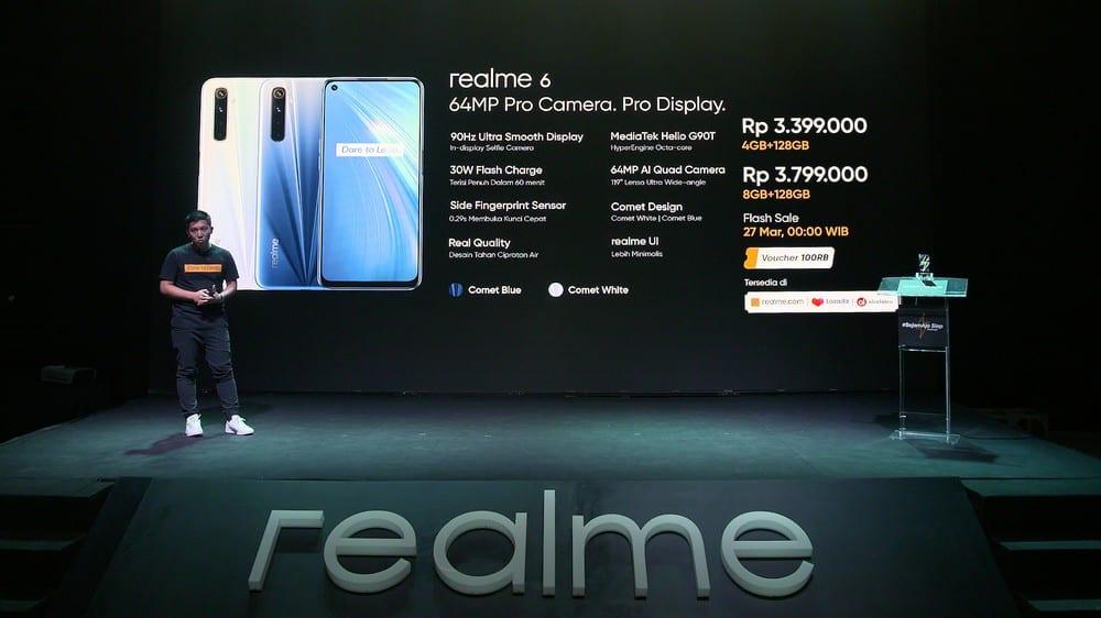 Harga Mulai 3 Jutaan Rupiah, realme 6 dan realme 6 Pro Resmi Meluncur di Indonesia 18 android, Realme, realme 6 Pro, smartphone